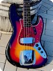 Fender Jazz Bass 1962 Sunburst Finish