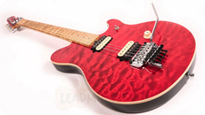 Ernie Ball Music Man Music Man EVH Edward Van Halen Signature Trans Red 1995