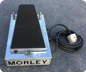 Morley Power Wah Fuzz PWF 1979 Metal Cromo Box