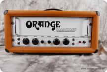 Orange OR100 Matamp 1970 Orange