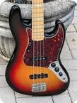 Fender Jazz Bass 1974 Sunburst Finish