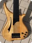 Tune WB5 FM Fretless Bass 1990 Natural Finish