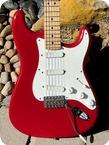 Fender Stratocaster Eric Clapton Signature 1989 Torino Red Finish