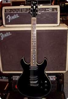 fender esprit robben ford 1980 black guitar for sale hendrix guitars. Black Bedroom Furniture Sets. Home Design Ideas