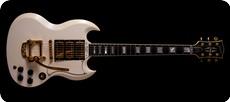 Gibson SG Custom 3 Pickups Alpine White
