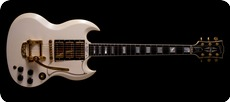 Gibson SG Custom 3 Pickups White
