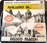 Egisto Macchi Parliamo Di... N. 2 Cometa Edizioni Musicali CMT 22 1980