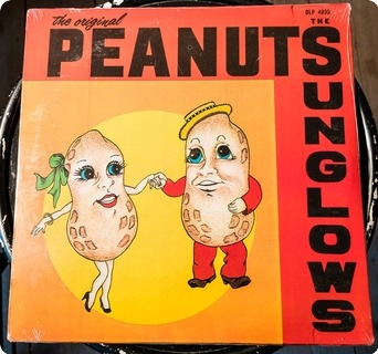 The Sunglows The Original Peanuts  Siesta Records ‎– S 101 1976