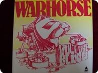 WARHORSE Vulture Blood Thunderbolt Records THBL 004 1983