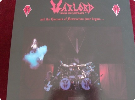 Warlord The And The Cannons Of Destruction Has Begun Roadrunner  / Rr9806 1984