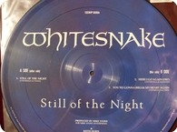 WHITESNAKE-Still Of The Night - Picture Disc-EMI / 12EMIP5606-1987