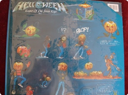 Helloween Keeper Of The Keys Part I   Picture Disc Noise International / N 0057 9 1988