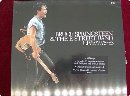 Bruce Springsteen   Bruce Springsteen And E Street Band Live 1975 1985 Cbs / Cbs 450227 1 1986