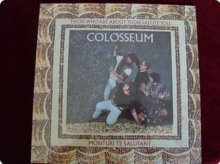 Colosseum Those Who About To Die Salute You Bronze / 25857 Et 1983