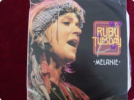 Melanie Ruby Tuesday   White Label/test Pressing  Food For Thought Records – 12 Yum 117  1989