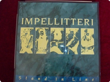 Impellitteri Stand In Line / White Label   Test Pressing Music For Nations / Mfn 87 1988