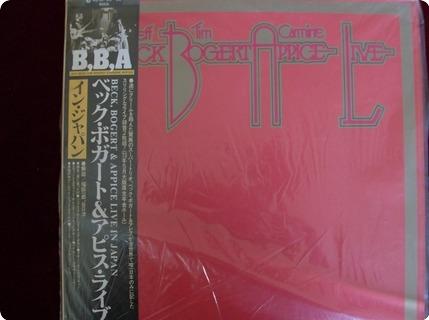 Beck, Bogert & Appice Beck, Bogert & Appice   Live Epic / 40 3p 55 6 1979