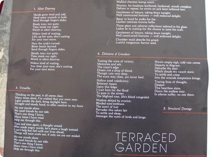 Terraced Garden Braille Melody And Menace Records ‎– Ct 1958 1984