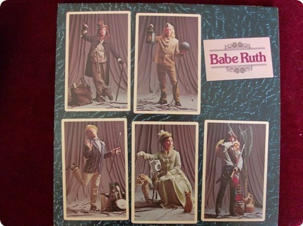 Babe Ruth Baby Ruth  Harvest – Shsp 4038  1975