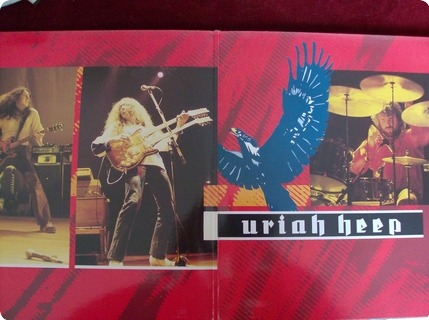 Uriah Heep Live In Europe 1979  Raw Power ‎– Rawlp030  1986