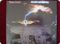Thin Lizzy Thunder And Lightning LP 12 Vertigo VERL3 1983