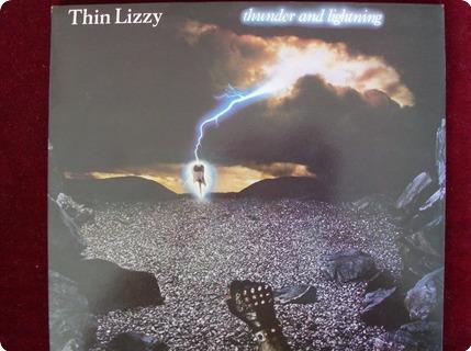 Thin Lizzy Thunder And Lightning ( Lp + 12 Vertigo / Verl3 1983
