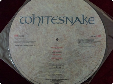 Whitesnake 1987   Picture Disc  Emi ‎– Emc P 3528  1987