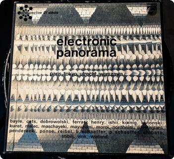 Various Electronic Panorama: Paris, Tokyo, Utrecht, Warszawa  Philips – 6740 001   Prospective 21e Siècle 1970