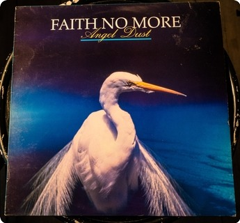 Faith No More Angel Dust  Slash ‎– 828 401 1, London Records ‎– 828 401 1 1993