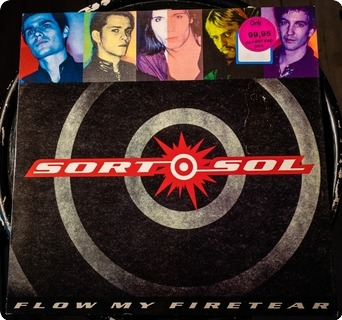 Sort Sol Flow My Firetear  Columbia ‎– 467510 1 1991