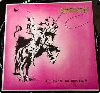 Nemesis The Day Of Retribution  Finger Print Records ‎– Fing Mlp 003 1984