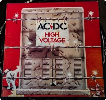 Ac/dc High Voltage  Albert Productions ‎– Aplp 009 1983