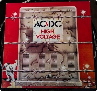 Ac/dc High Voltage  Albert Productions – Aplp 009 1983