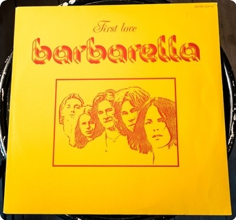 Barbarella First Love  Artist ‎– Alp 515 1975