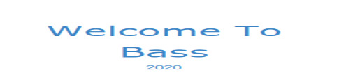 Welcome To Bass