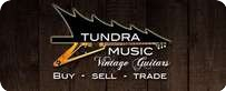 Tundra Music INC. Vintage Guitars