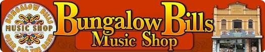 Bungalow Bills Music Shop