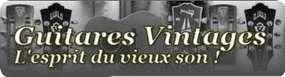 Guitares Vintages
