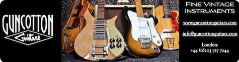 Guncotton Guitars